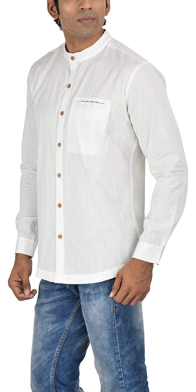 Less Is More- Block Printed - Blue- Shirt