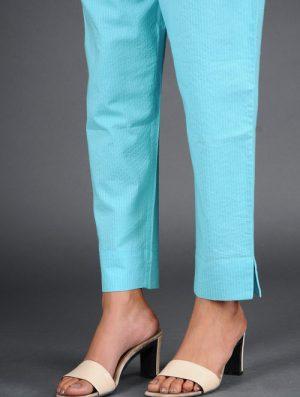 Glitter Shimmer - Woven - Blue- Pant