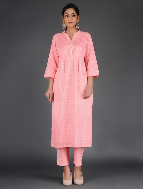Glitter Shimmer - Woven - Pink- Pant