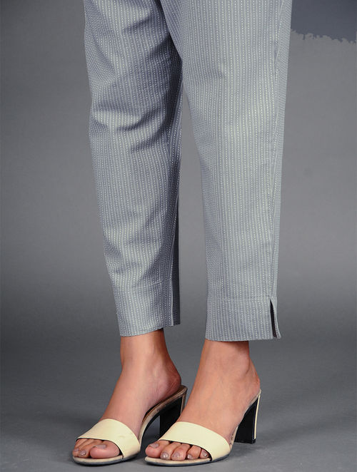 Glitter Shimmer - Woven - Grey- Pant