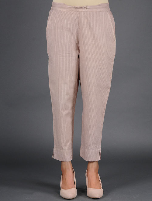 Glitter Shimmer - Woven - Brown- Pant