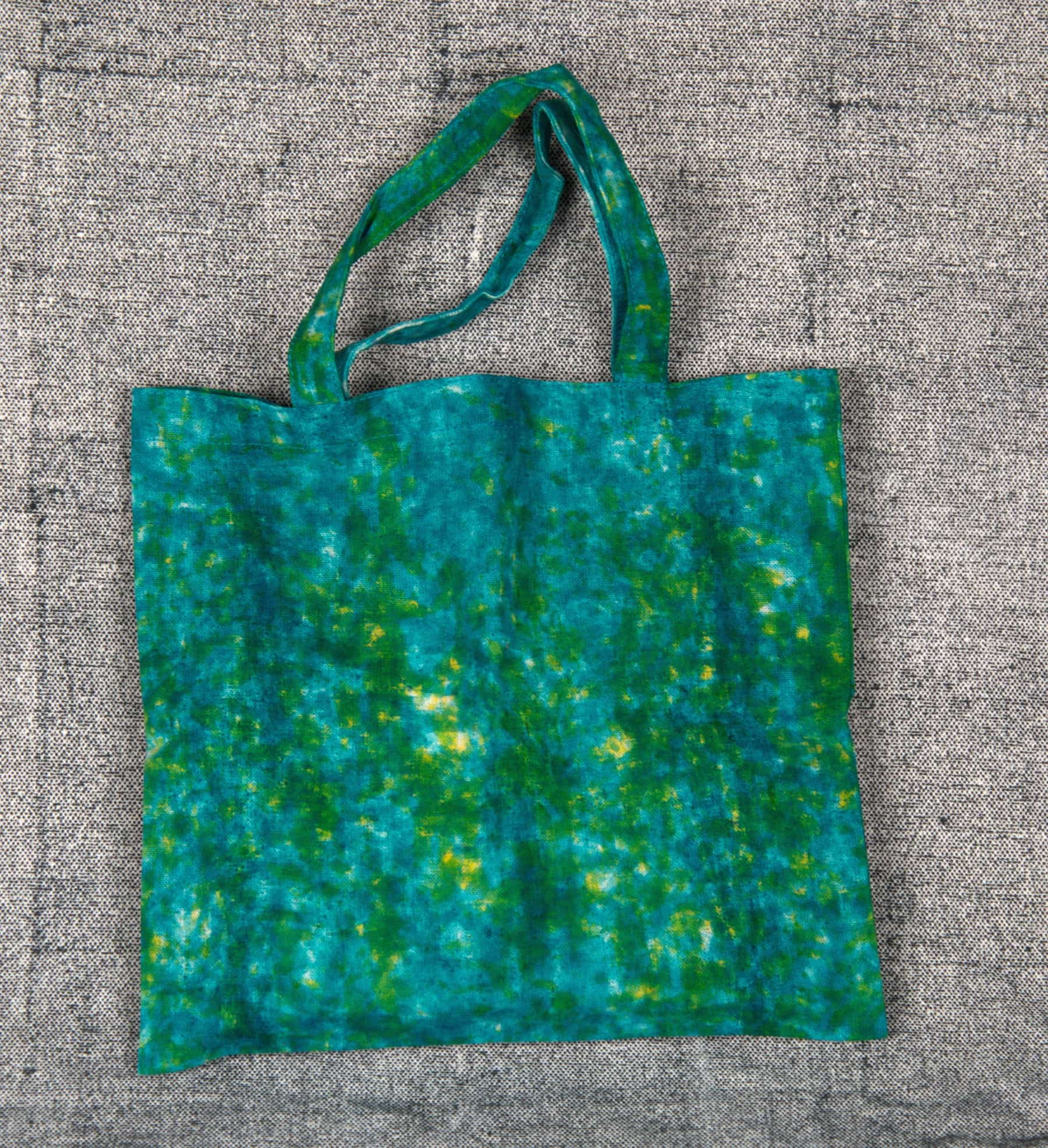 Bag out of Achadaâ Fabric