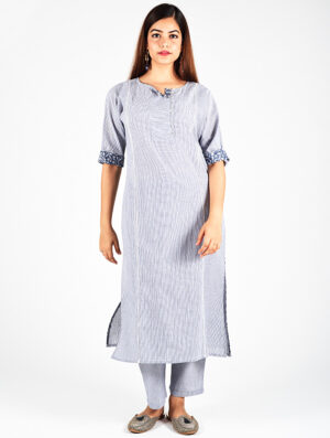 Dharan-Charcoal-Stripe-Re-Sana-Kurta